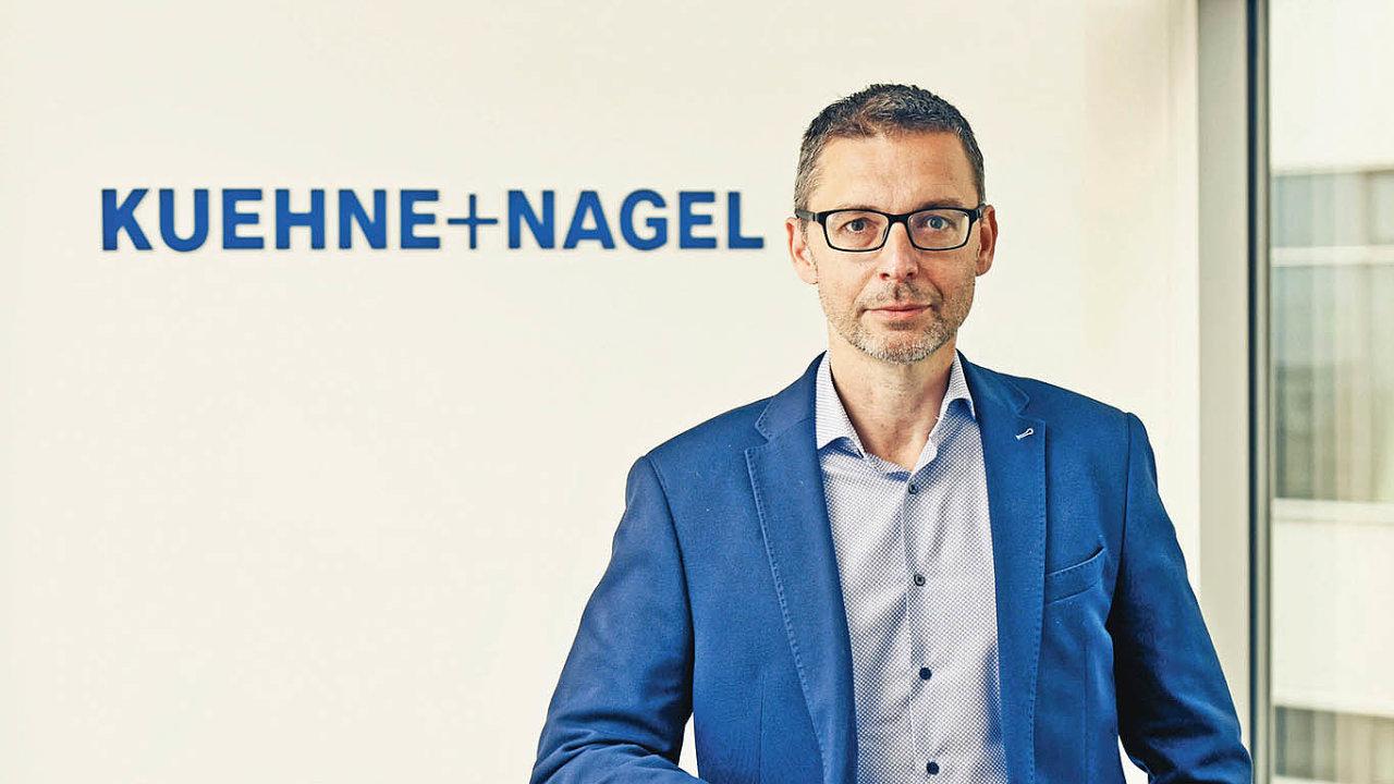 Generální ředitel Kuehne+Nagel Miroslav Pudil