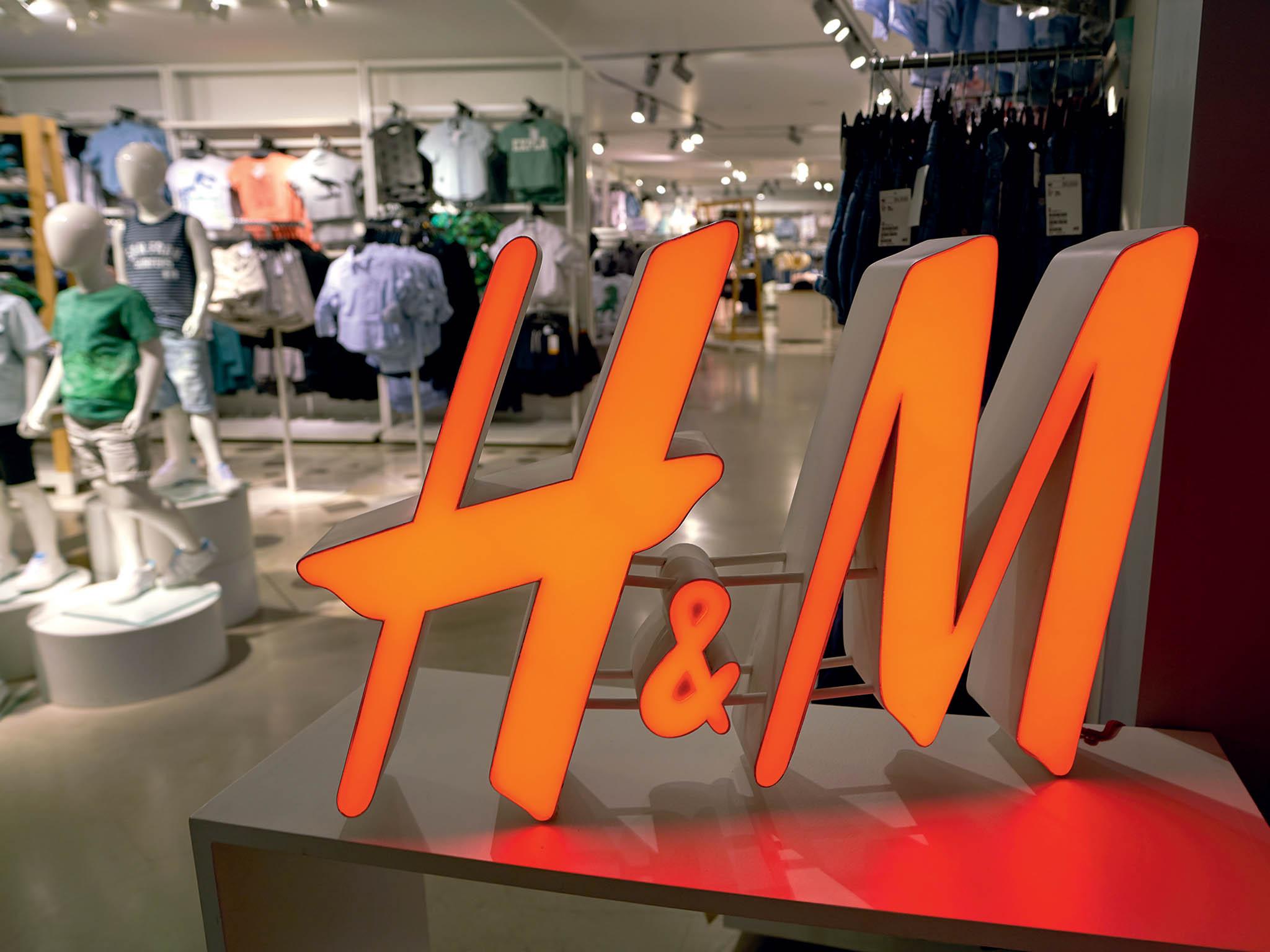 Prodejce oděvů H&M zaostává zasvým konkurentem Inditex.