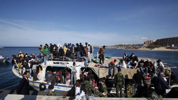 0329VLT02 LIBYA MALTA IMMIGRATION 0329 11