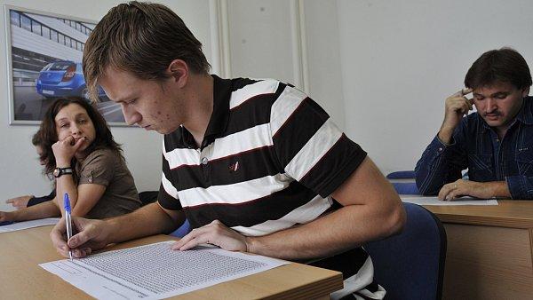 Zkouška - ilustrační foto