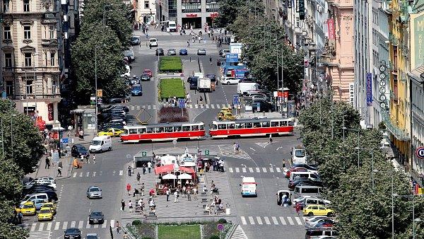 V�clavsk� n�m�st� v Praze