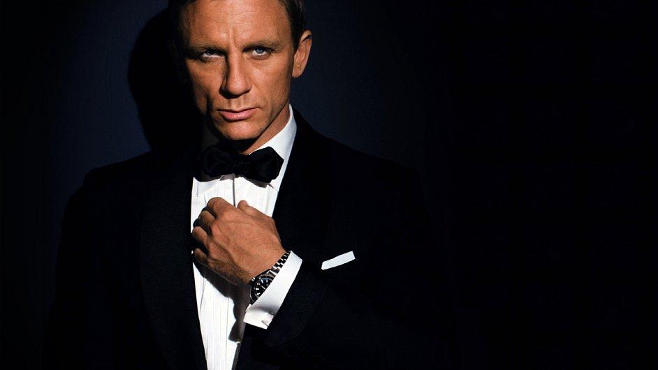 Aktuální představitel Jamese Bonda Daniel Craig.