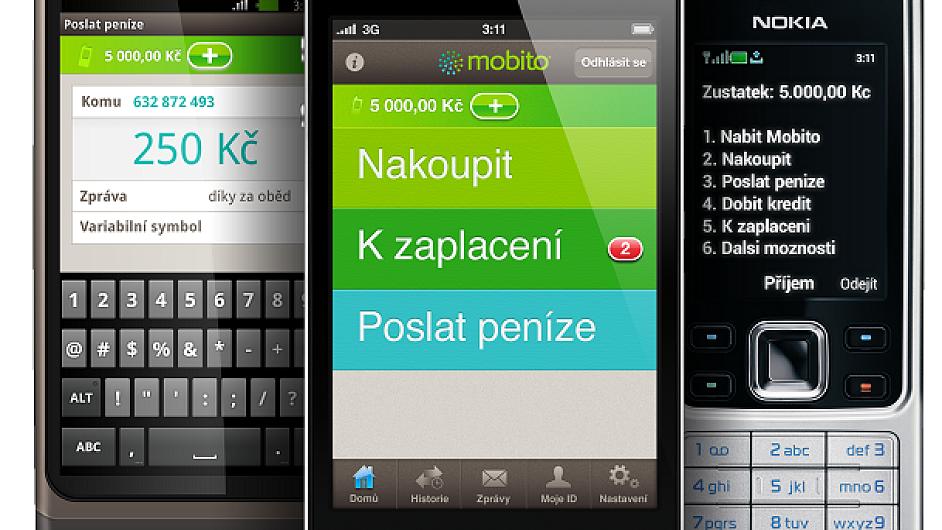 Mobito aplikace 3telefony