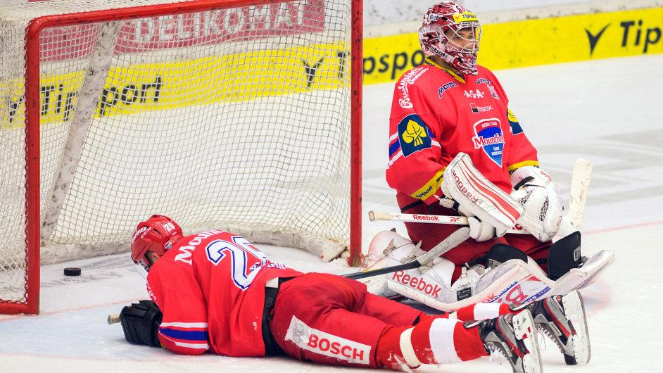 Hokejisté Českých Budějovic.