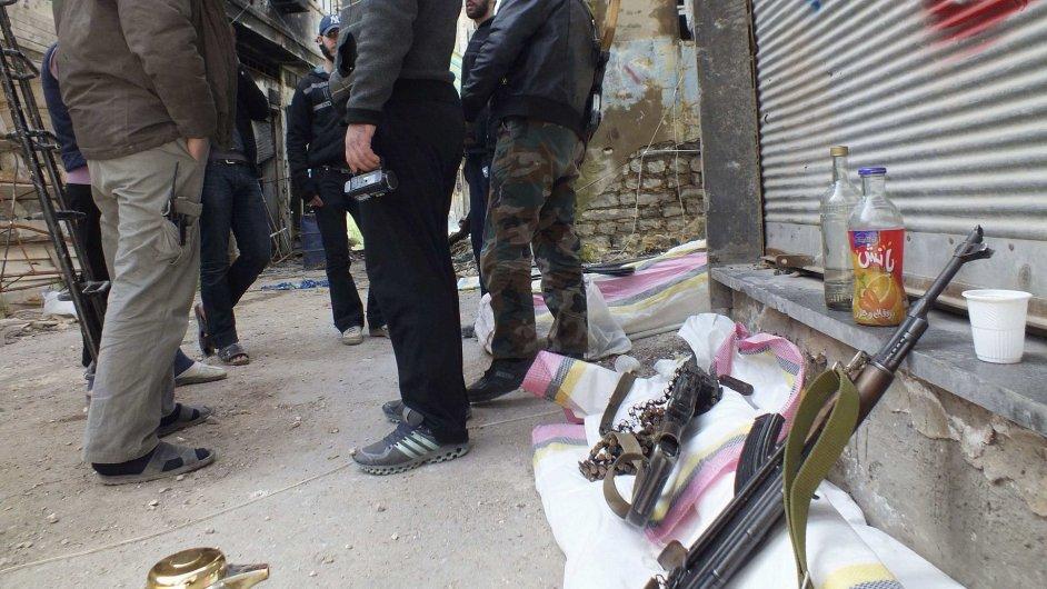 Svobodná syrská armáda - ilustrační foto.