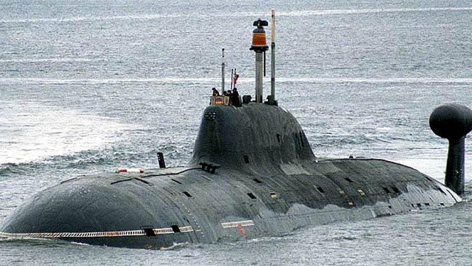 Ruská jaderná ponorka Vepr - Ilustrační foto.
