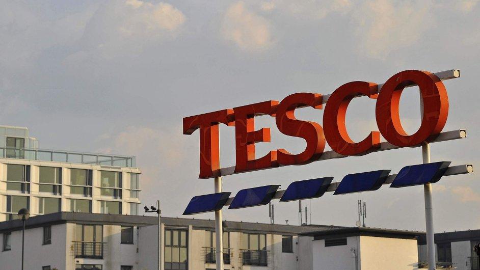 Obchodní řetězec Tesco.