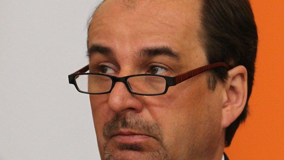 Jan Kohout na sjezdu ČSSD v březnu 2011