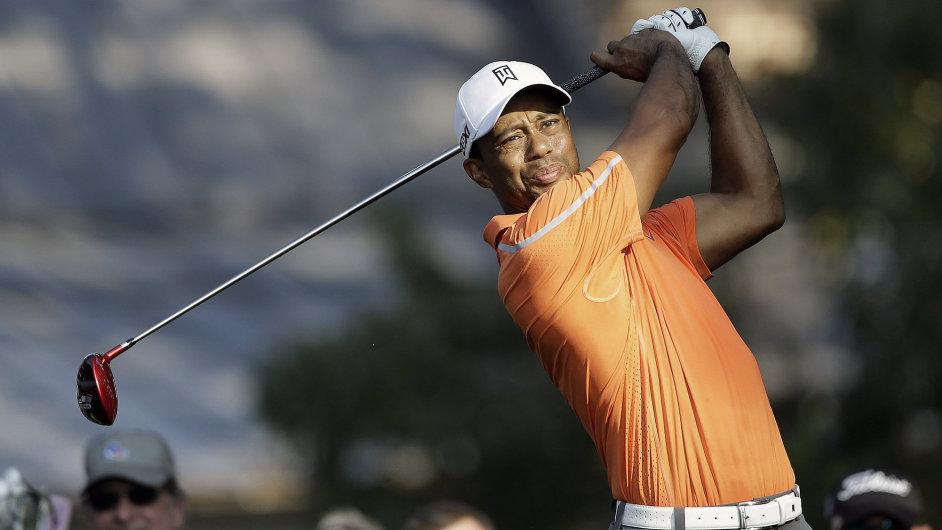 Tiger Woods na hřišti East Lake v Atlantě