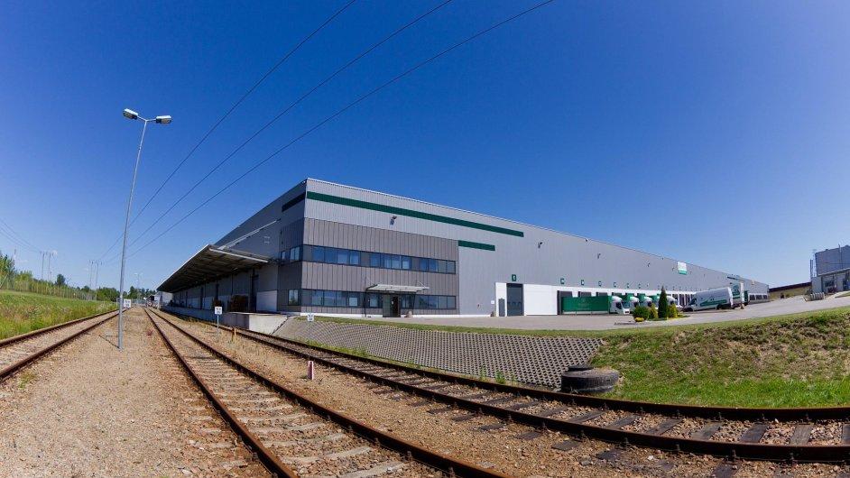 Do Prologis Parku Sochaczew vede železniční vlečka