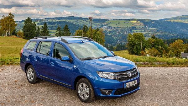 Kombík Dacia Logan MCV se dá pořídit už od 194 900 korun.