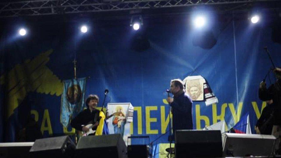 Koncert Mig 21 v Kyjevě