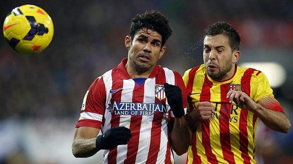 Barcelona remizovala s Atlétikem