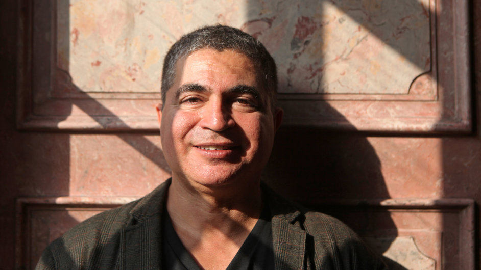 Marocký spisovatel Mahi Binebine