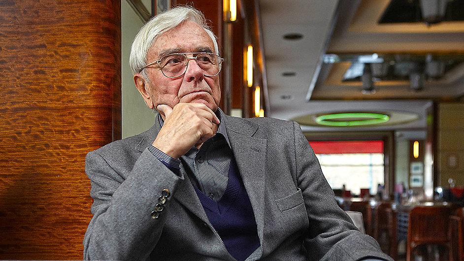 Architekt a Havlův poradce Miroslav Masák na snímku z roku 2012.
