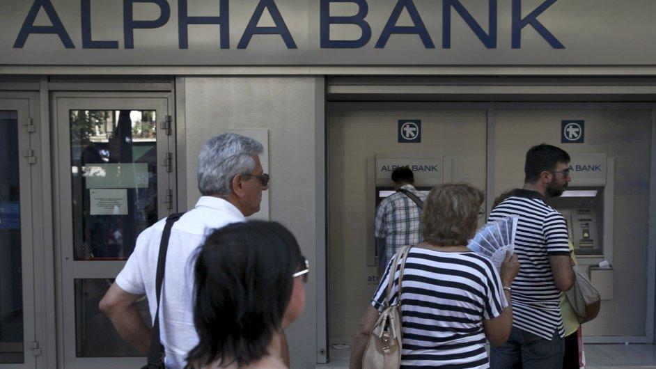 Řecké banky - Ilustrační foto.