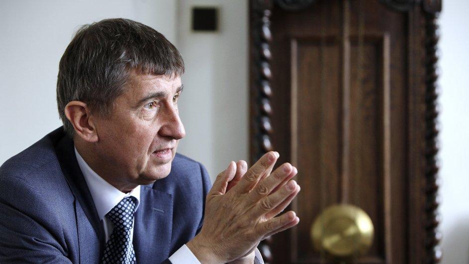 Andrej Babiš: Státní rozpočet míří ke schodku okolo 80 miliard korun.