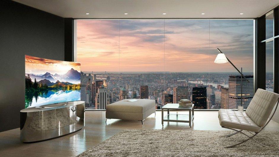 OLED televize LG, ilustrační foto
