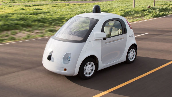 Samořídící auto od Google.