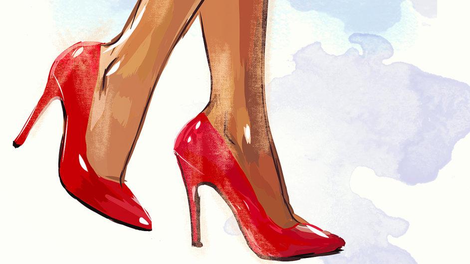 Ladnost na vysoké noze  Každá nositelka podpatků volí mezi ... 63ab855a14