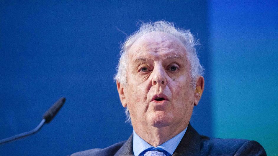 Daniel Barenboim na snímku z minulého týdne, kdy představil Barenboimovu-Saidovu akademii.
