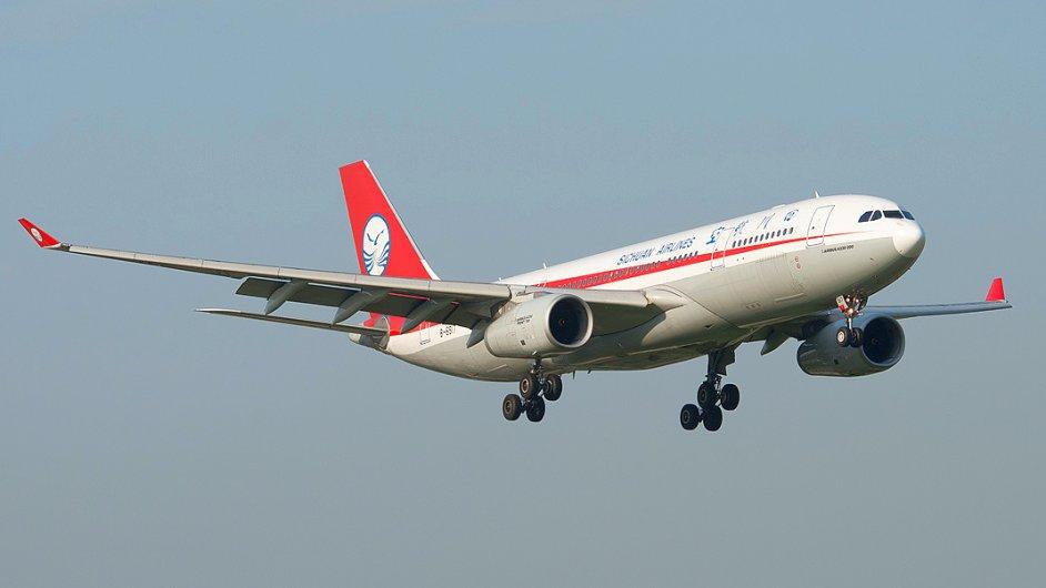 Sichuan Airlines - Ilustrační foto.