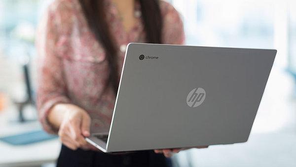 Chromebook 13 od HP míří do firemního prostředí, vše vsadil na efektní design