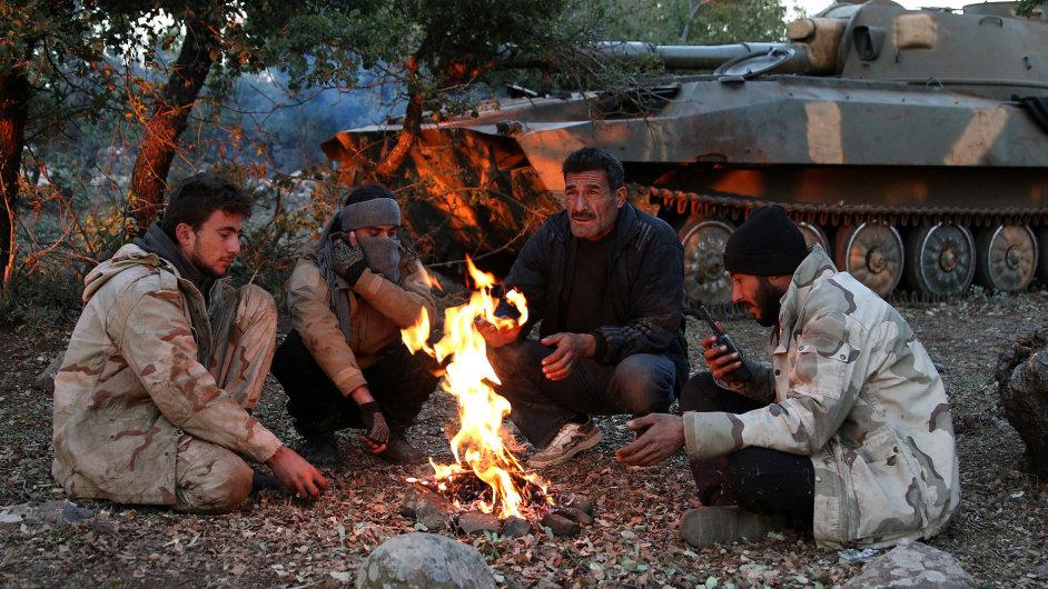 Syrští rebelové - Ilustrační foto.