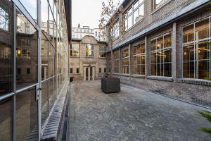 Zrestaurovaný Štencův dům v Salvátorské ulici u Pařížské na Starém městě