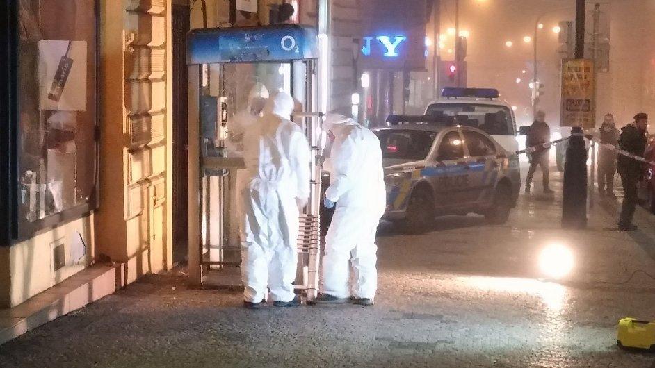 pyrotechnik, Praha, policie, výbuch