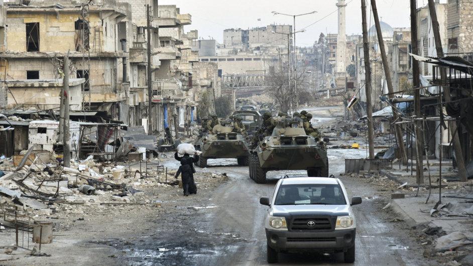 Aleppo, Sýrie - Ilustrační foto.