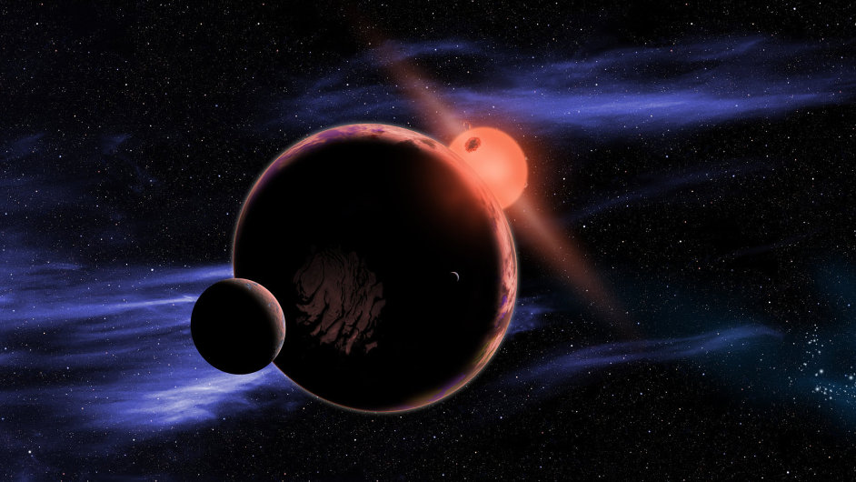exoplaneta, červený trpaslík, Proxima