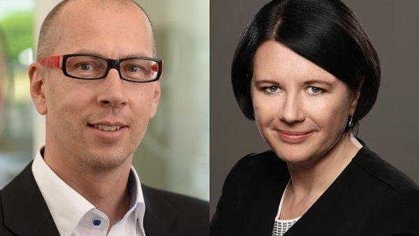 Aleš Malenka (Henkel ČR), Ivana Tůmová (Mondelez)