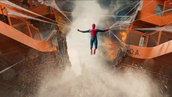 Snímek z traileru na nového Spider-Mana: Homecoming.