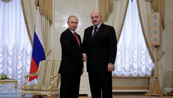 Putin a Lukašenko se prý dohodli na narovnání narušených vztahů.