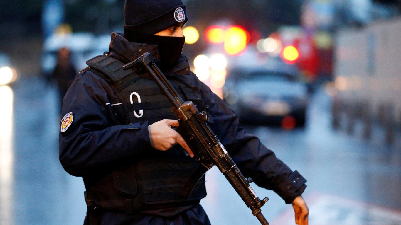 Turecko, policie