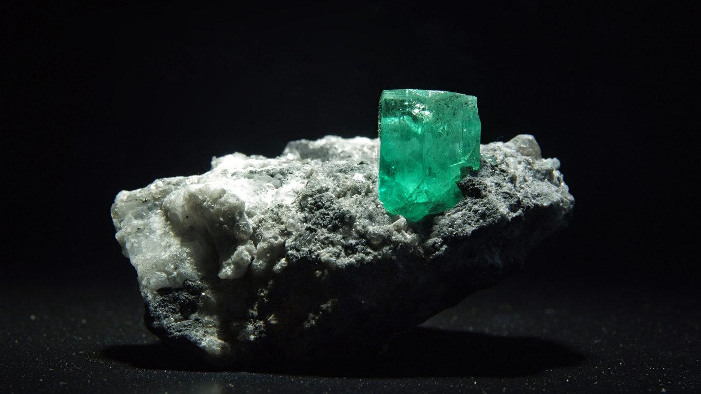 Smaragd, ilustrační foto