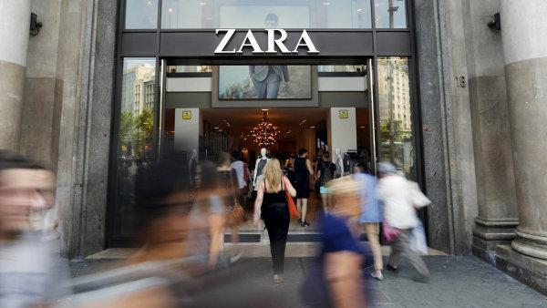 Majiteli obchodů Zara vzrostl ve čtvrtletí zisk o 18 procent.
