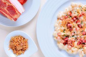 Halušky po valašsku: Připravte si je s restovanou slaninou, kopřivami a smetanou