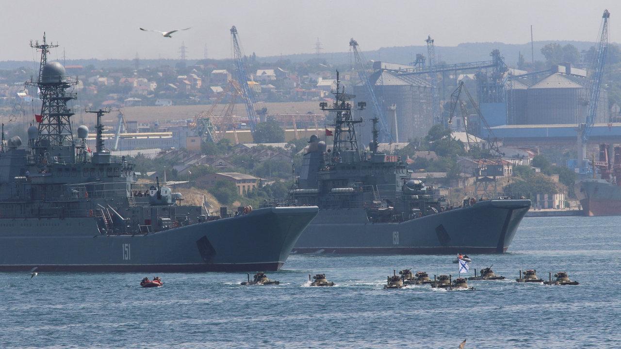 Zablokování námořní dopravy by způsobilo ztráty ukrajinským přístavům – Ilustrační foto.