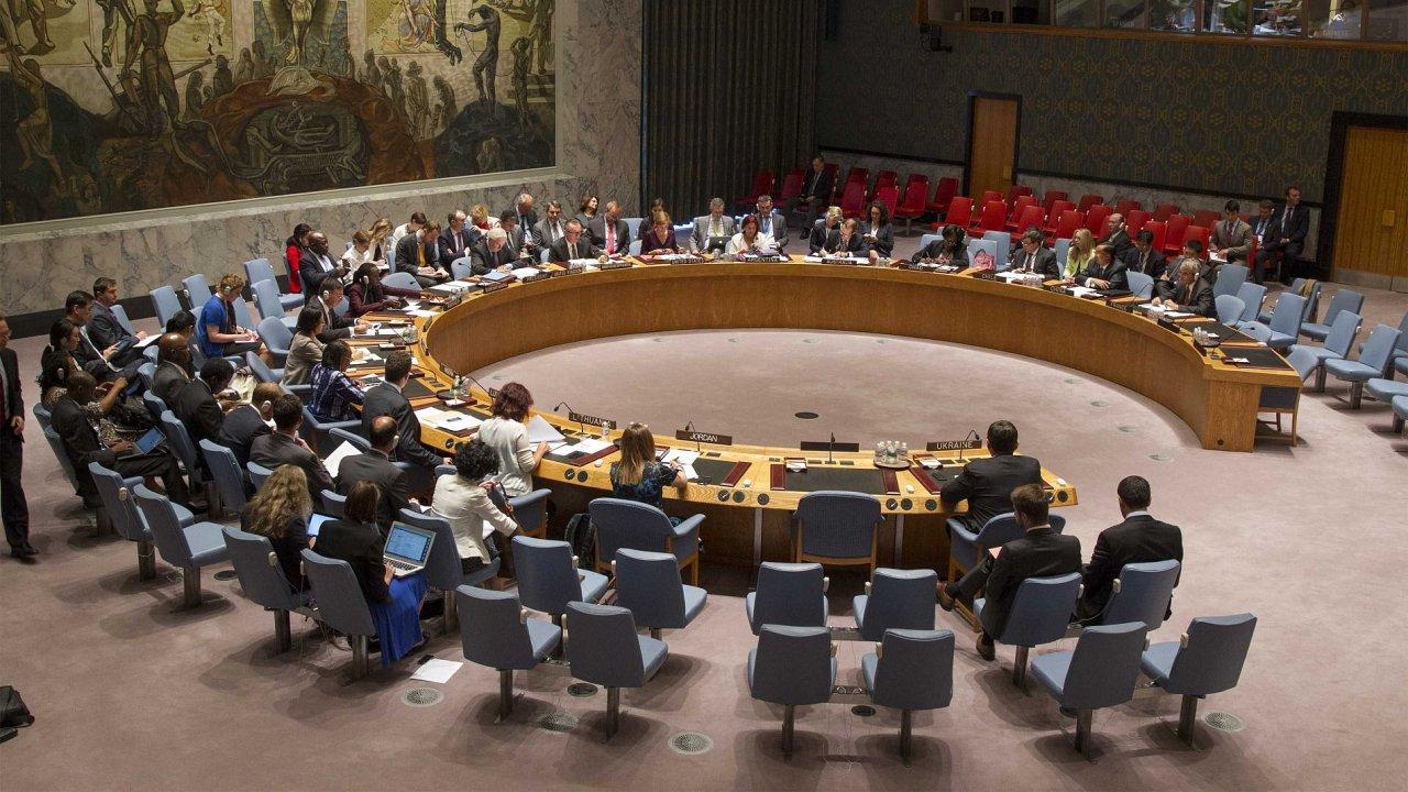 Rada bezpečnosti OSN kvůli vyhrocené situaci na Ukrajině svolala mimořádné zasedání