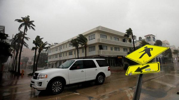 Hurikán Irma se přehnal přes Floridu.