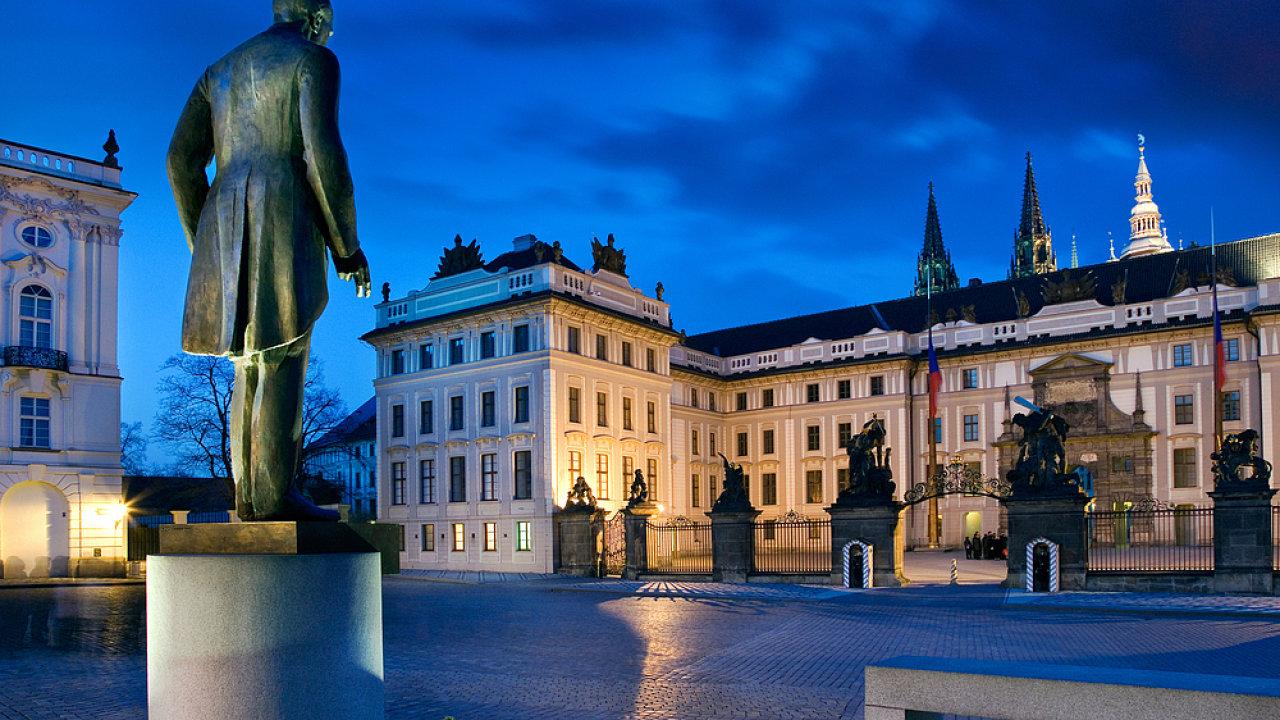 masaryk, hrad, česko
