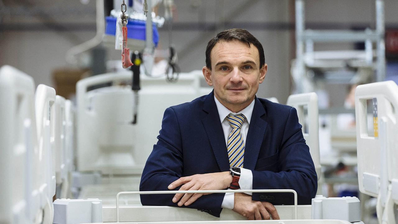 Tomáš Kolář, výkonný ředitel Linet Group.