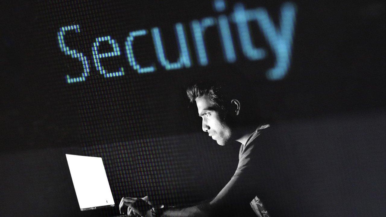 Malware, kybernetický útok, ilustrace