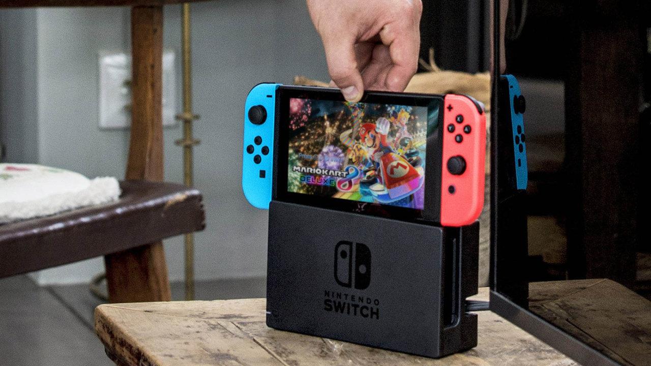 Konzole Nintendo Switch je úspěch i pro Nvidii, která pro Nintendo vyvinula a vyrábí procesor a grafický čip.
