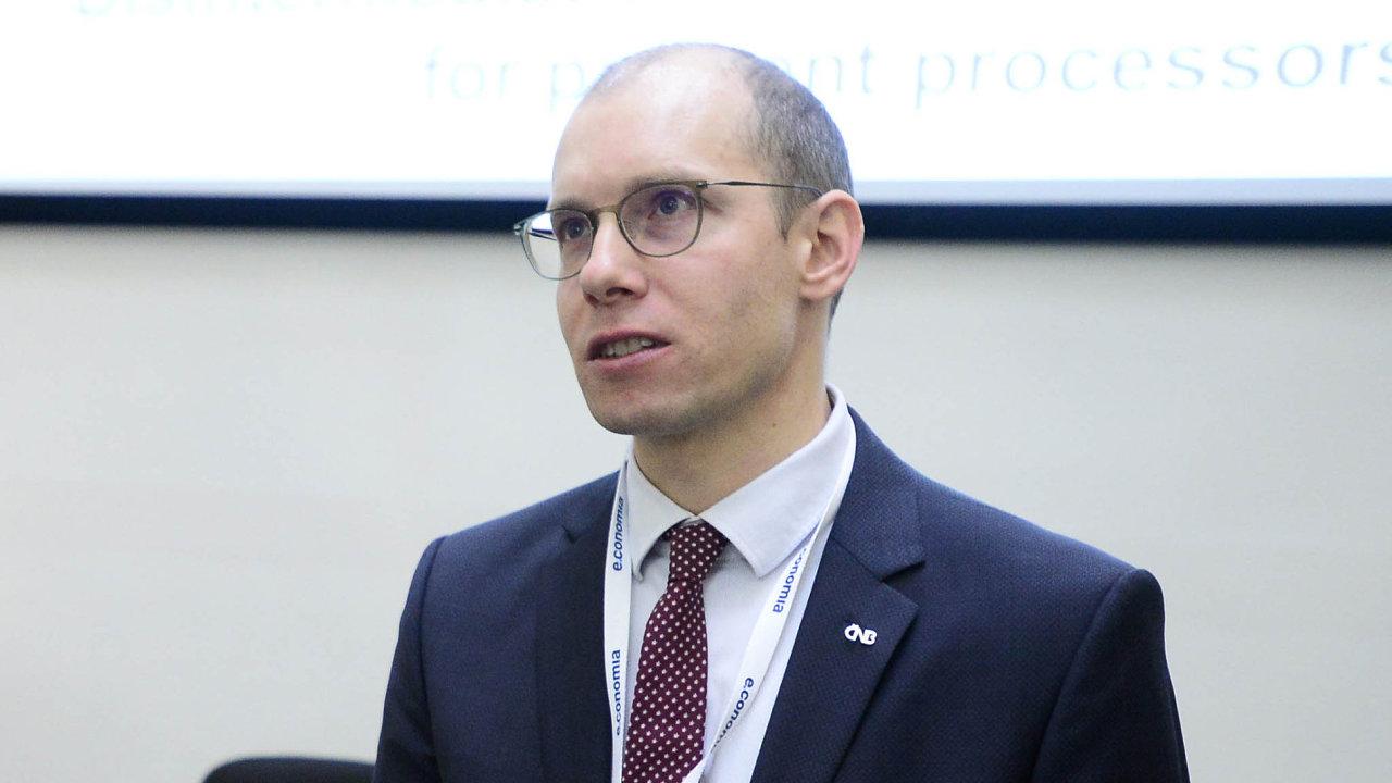 Michal Vodrážka, ředitel odboru dohledu nad peněžním oběhem a platebními systémy ČNB