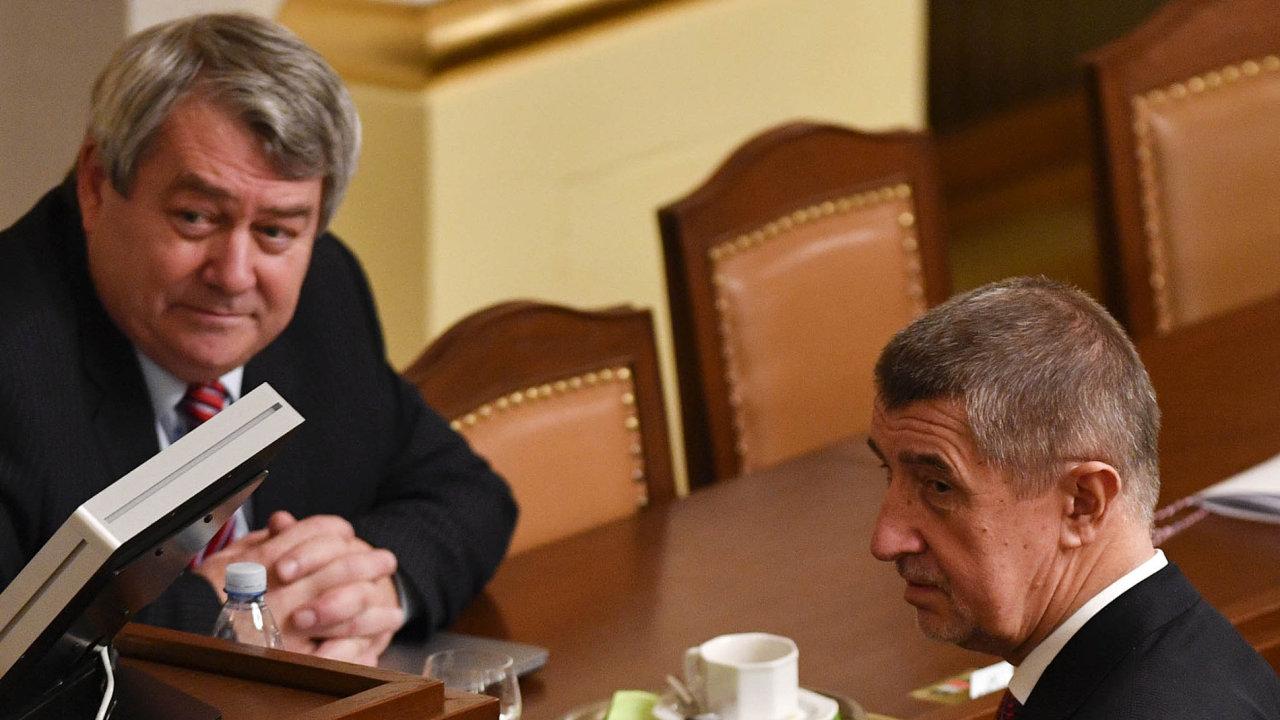 Premiér Andrej Babiš počítá spodporou komunistů pro svoji novou vládu.