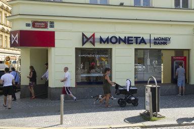 Moneta Money Bank funguje pod tímto názvem od roku 2016. Ilustrační foto.