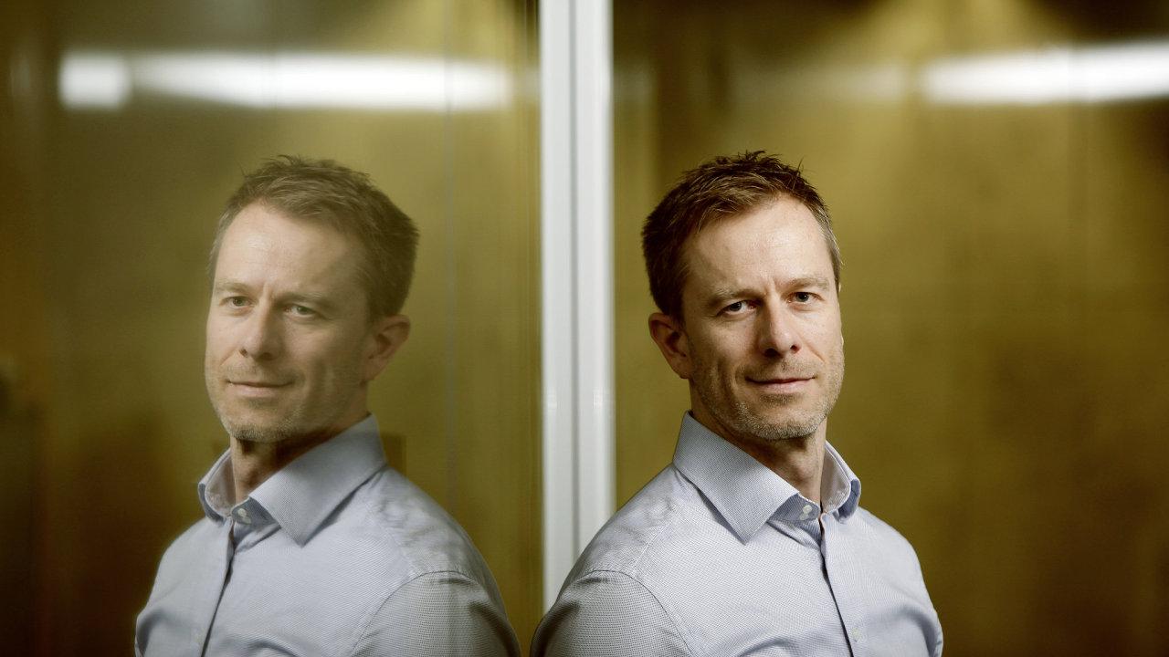 Petr Koutný, spolumajitel a ředitel Banking Software Company.